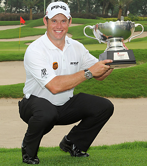 Lee Westwood shot a 3-under 69 for a three-stroke victory over Thailand's Thongchai Jaidee.