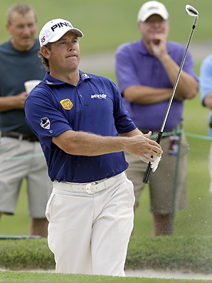 Lee Westwood made five birdies and an eagle en route to a bogey-free 63.