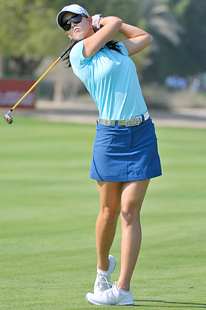 Former teen golf prodigy Michelle Wie thinks Lexi Thompson is ready for the LPGA Tour.