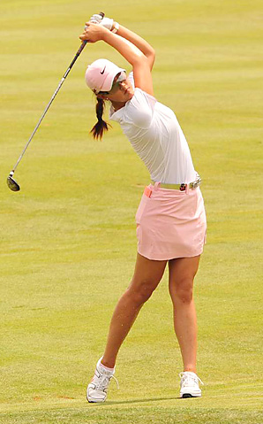 Michelle Wie will try to defend her 2010 title this week at the Canadian Women's Open.
