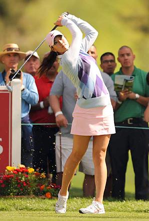 Twenty-year-old Michelle Wie won her first professional tournament last November.