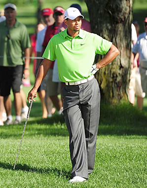 Among Tiger Woods's low points on the course in 2010: a tie for 78th place at Firestone.