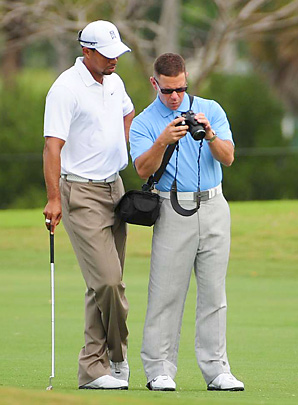 Tiger Woods and Sean Foley have been working together since last year.