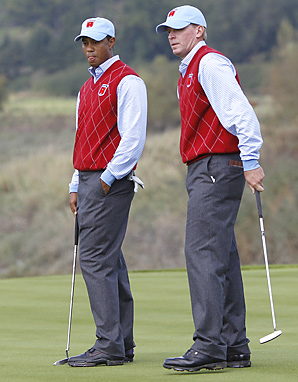 Tiger Woods and Steve Stricker went 4-0 at the Presidents Cup last year.