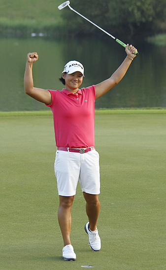 Yani Tseng earned her 10th worldwide victory of 2011.