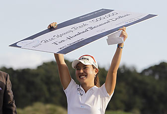 Hee Young Park won the Titleholders on Sunday.