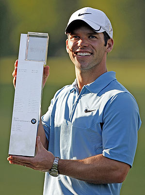 Paul Casey is now No. 3 in the world.