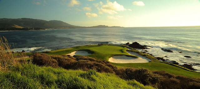 It's hard to beat the view at the par-3 7th at Pebble Beach.