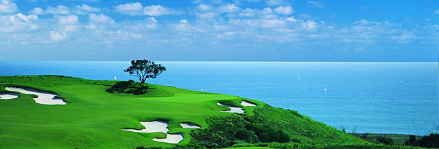 No. 17 at the Ocean North Course at Pelican Hill.