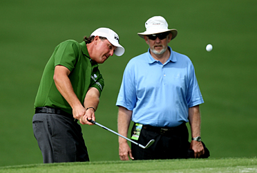 Dave Pelz will show you what he's taught his more famous students, like Phil Mickelson.