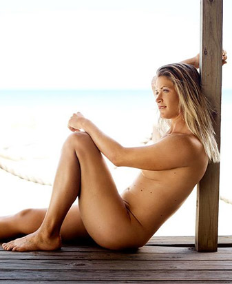 Pettersen's spread in the Body Issue.