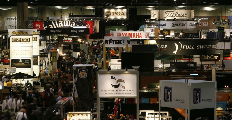 Last week almost 1,000 vendors displayed their wares at the PGA Merchandise Show in Orlando.