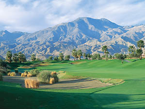 """To Dye for: The ninth hole at PGA West's Stadium course. <span class=""""picturesource"""">Evan Schiller</span>"""