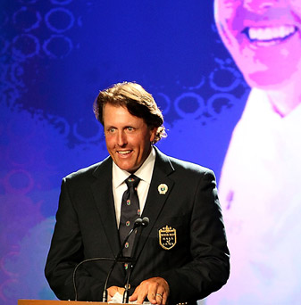 Phil Mickelson has won 40 PGA Tour events and four major championships in his career.
