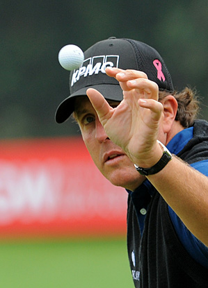 Phil Mickelson is battling arthritis but says he is feeling good heading into this week's event in Shanghai.