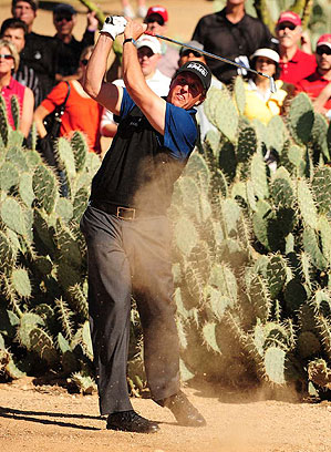 Phil Mickelson missed the cut at last year's tournament.