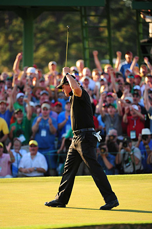 Phil Mickelson was the last American to capture a title, more than a year ago at the 2010 Masters.