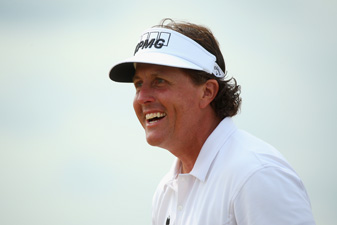 Phil Mickelson made six birdies and no bogeys on Saturday.