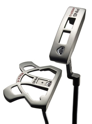 Ping iN Anser (top) and iN Wack-E putters