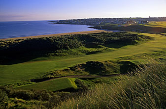 The opening hole on Portstewart's Strand Course.