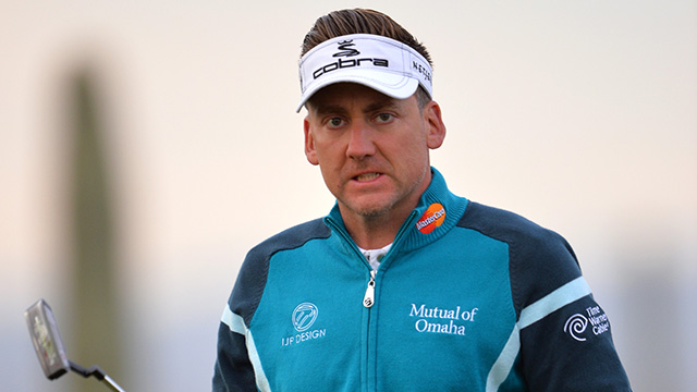 Ian Poulter lost to Thomas Aiken, 1 up.