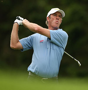 Richard Green shot a 64 in the first round.