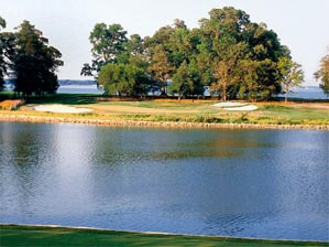 Save a good swing for the 203-yard 17th at River Marsh