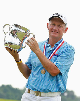 Roger Chapman has already won the Senior PGA Championship and the U.S. Senior Open this year.
