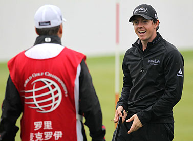 Rory McIlroy won an unofficial event last week in Shanghai.