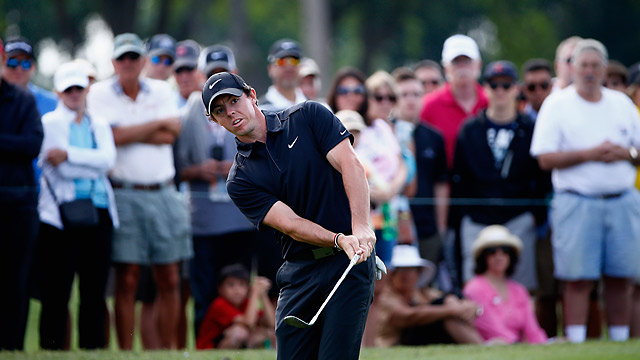 Rory McIlroy increased his lead Friday with a four-under 66.