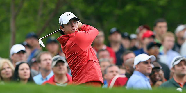 McIlroy is in a seven-way tie for the lead following the first round.