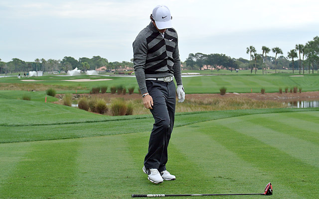 McIlroy withdrew in the middle of his second round at PGA National.