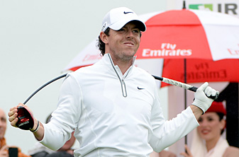 Rory McIlroy missed the cut by two strokes after rounds of 74-72.