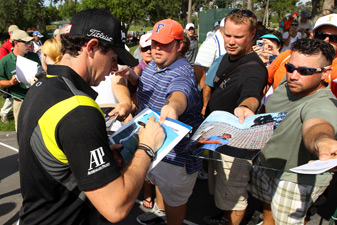 Rory McIlroy is back at the Players after skipping it last season.