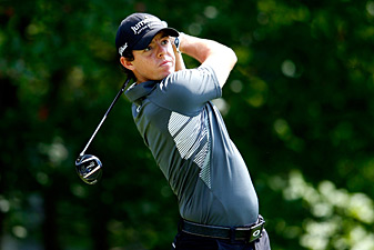 Rory McIlroy made an eagle, six birdies and two bogeys.