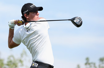 Rory McIlroy made six birdies and one bogey on Friday.