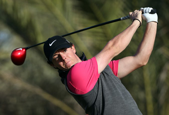 Rory McIlroy will need a good round on Friday to make the cut.