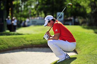 Rory McIlroy shot a 79 on Friday to miss the cut