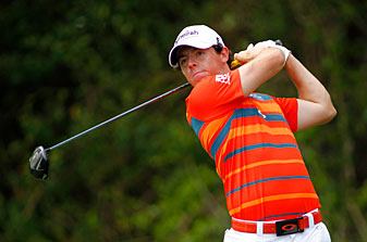 Rory McIlroy made six birdies and two bogeys.