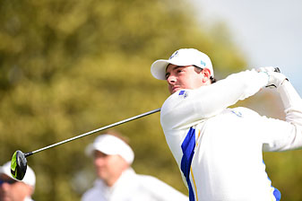 Rory McIlroy led Europe to a blowout on Sunday at the Ryder Cup, which garnered the lowest U.S. TV ratings since 1991.