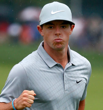 Rory McIlroy is looking to win his second consecutive major.