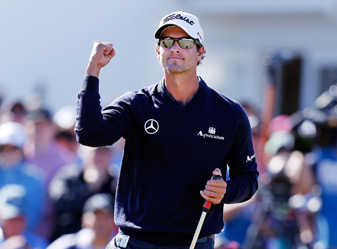 Adam Scott, who uses an anchored putter, won his first Australian Masters on Sunday.