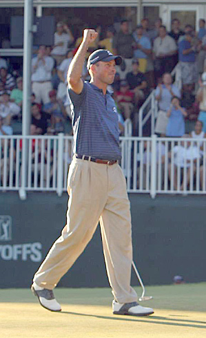 Matt Kuchar's win at the 2010 Barclays vaulted him to the top of the FedEx Cup standings.