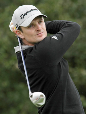 Justin Rose held on to his lead to win the 2011 BMW Championship, the third leg of the FedEx Cup playoffs.