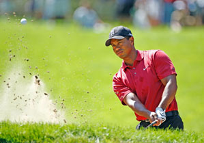 Tiger Woods had never missed the PGA Grand Slam when he was eligible.