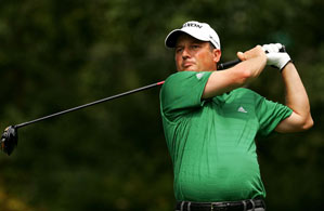 Tim Clark tied the course record with an eight-under 62.