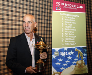 """Corey Pavin said Tiger Woods is """"more than ready"""" for the Ryder Cup."""