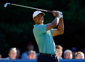 Tiger Woods shot a seven-under 64.