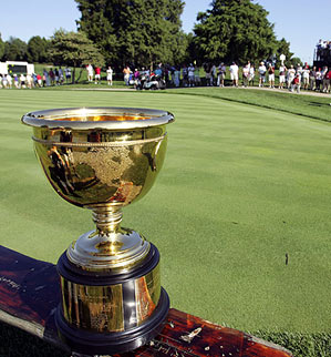 The last Presidents Cup ended in a tie.