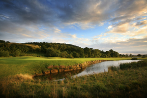 The 14th hole at Celtic Manor's Twenty Ten course.